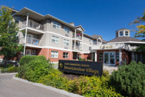 mountainview village Kelowna British Columbia Independent Living exterior