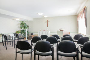 mountainview village Kelowna British Columbia Independent Living chapel