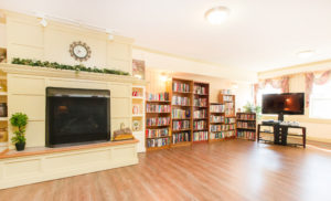 mountainview village Kelowna British Columbia Independent Living common library