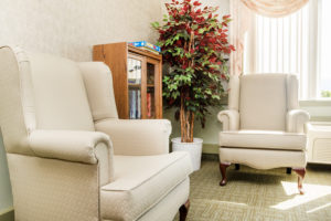 Heron Grove Vernon British Columbia Independent living common space