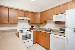 Heron Grove Vernon British Columbia Independent living suite kitchen