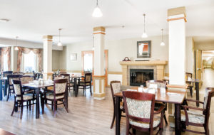 Heron Grove Vernon British Columbia Independent living dinning hall