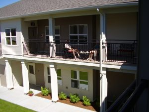 Good Samaritan Mountainview Village Kelowna British Columbia Independent Living balcony