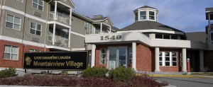mountainview village exterior Kelowna British Columbia